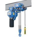 Electric shop hoist