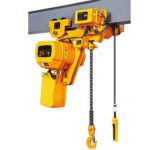 Electric pulley hoist